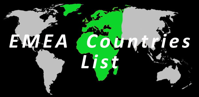 Complete list of emea countries istizada emea countries gumiabroncs Images