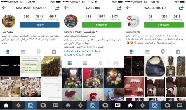 instagram in qatar