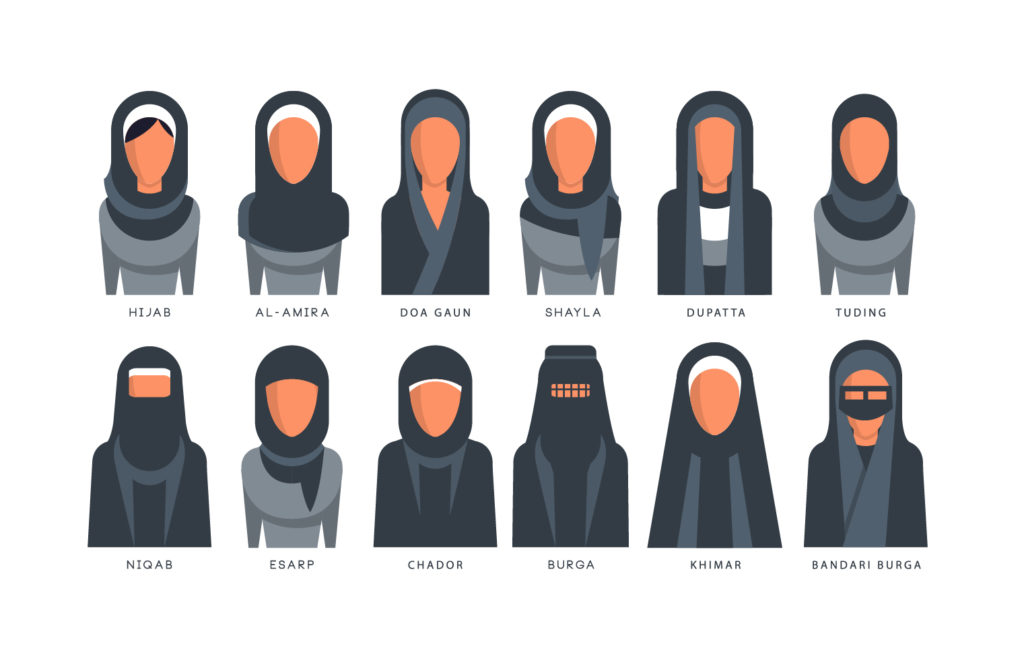 Collection of Hijab
