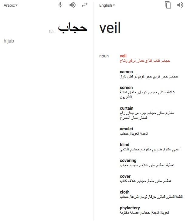 Veil Translation